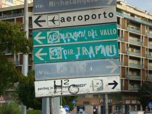 Visibilità della segnaletica stradale