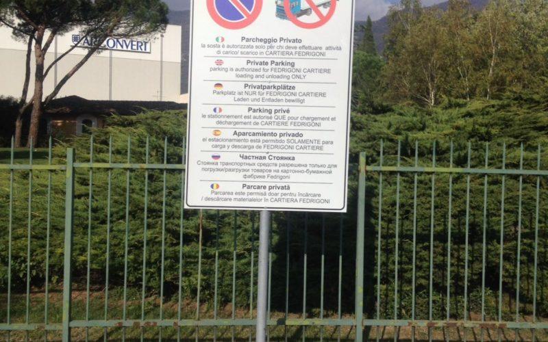 segnaletica-aziendale-verona-parcheggio-privato